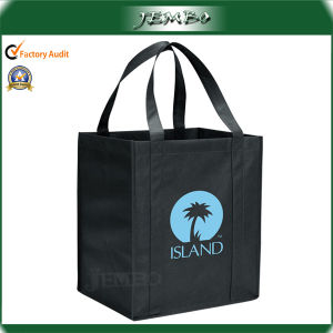 Promotion Handled PP Non Woven Packing Bag for Grocery pictures & photos