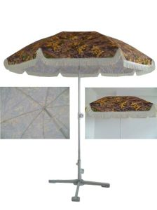 220cm*8k Beach Umbrella with Heattransfer printing, Ufp50+, High Quality pictures & photos