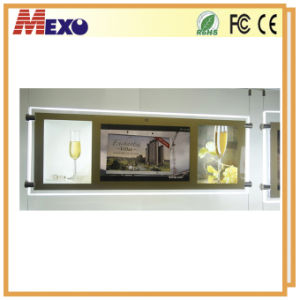 Crystal Frame LCD Advertising Player pictures & photos