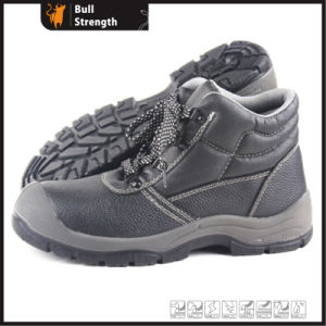 Industrial Leather Safety Boots with Steel Toe and Steel Midsole (SN5209) pictures & photos