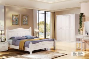 Modern Solid Wood Bedroom Furniture Suite pictures & photos
