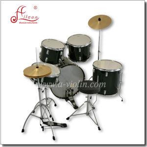 Percussion Music Instruments 5PCS Jazz Drum Set pictures & photos