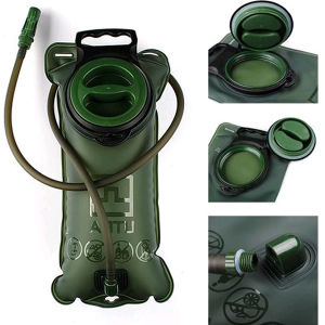 Camping Hiking Climbing 2L Military Green Water Bladder Bag pictures & photos