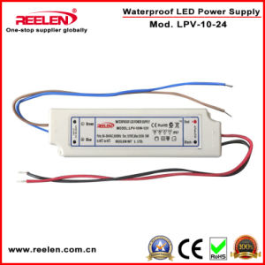 24V 0.42A 10W Waterproof IP67 Constant Voltage LED Power Supply pictures & photos
