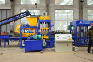 Automatic Qt5-15 Concrete Block Making Machine Hollow Brick Making Machine pictures & photos