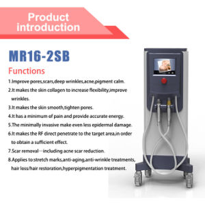 Srf+Mrf+PDT Microneedle Facial Treatment Beauty Equipment for Skin Rejuvenation Radio Frequency (MR16-2sb) pictures & photos