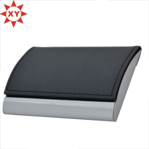 High Quality Rectangular Shape Leather Metal Business Card Holders pictures & photos