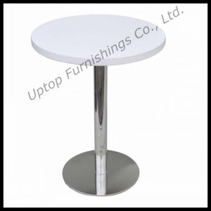 Commercial Modern Round Wooden Dining Table (SP-RT322) pictures & photos