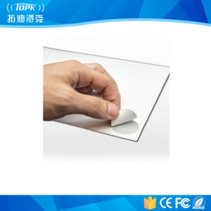 Round 30mm Printable RFID NFC Sticker Sheet 5X7 Ntag213 Circle pictures & photos