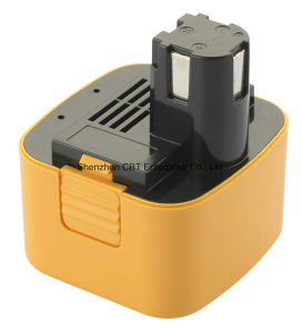 Power Tool Battery for Panasonic Ey9106 Ey9106b Ey9108 Ey9200 Ey3550 Ey3790b Ey6470nq pictures & photos