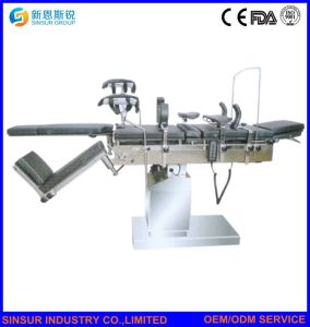 Surgical Equipment Fluoroscopic OT Use Electric Hydraulic Multi-Function Operating Table pictures & photos