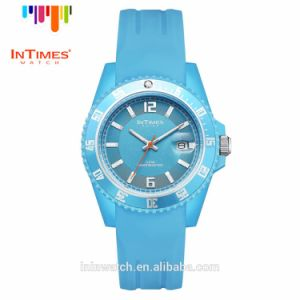 Intimes It-066 Fashion Lady Watch Plastic Case Silicon Band Quartz Watches 50m Waterproof