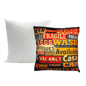 45X45cm Cushion with Sublimation Printed Cover Without Zipper Closure