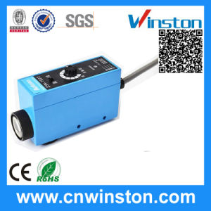 Color Mark Contrast Photocell Photoeye Sensor Switch with CE pictures & photos