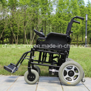 Portable Folding Electric Wheelchair for Disabled with Ce pictures & photos