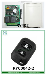 433.92MHz Fixed Code RF Remote Control for Garage Door (RYC0042-2)