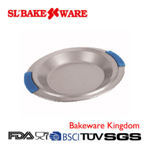 Round Pan with Silicone Handle Carbon Steel Nonstick Bakeware (SL BAKEWARE)
