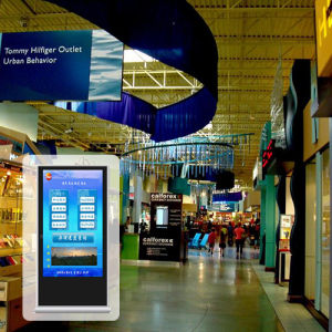 Most Popular X86 Touch Cabinet-Type Advertising Machine LED Display pictures & photos