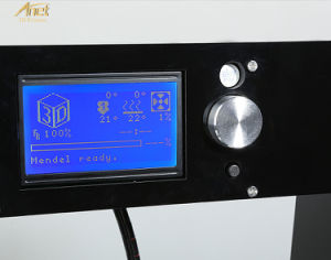 Anet A6 Desktop DIY 3D Printer with Micro SD Card Acrylic Plate Support ABS, HIPS, PLA Material Printing pictures & photos
