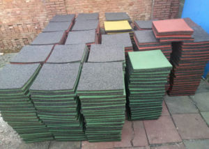 Anti Vibrate Rubber Pad, Rubber Mat, Rubber Sheet, Rubber Mat with Black Color pictures & photos