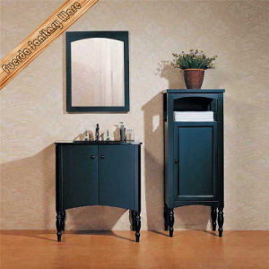 Black Finishing Wood Bathroom Vanity Cabinet pictures & photos