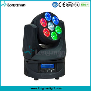 Osram 7PCS 15W RGBW Moving Head LED Effect Lights pictures & photos