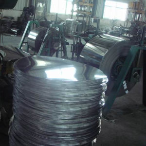 China High Quality 410 Grade Cold Rolled Stainless Steel Circle pictures & photos