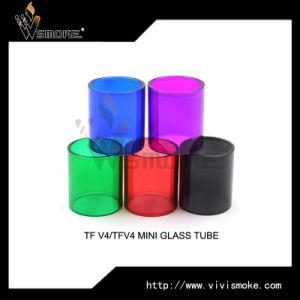 Whole Sale Ecig Atomizer TF V4/Tfv4 Mini Glass Tube pictures & photos