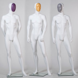 Latest Full Body Male Mannequin with Changeable Face pictures & photos