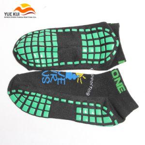 Rubber Custom Made Logo Rubber Anti Skid Non Slip Sock
