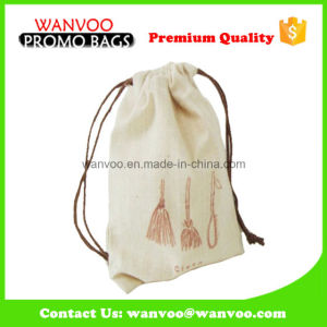 Promotional Leisure Full Colorful Printed Cotton Drawstring Backpack for Travel pictures & photos