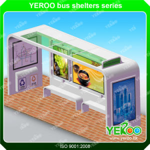 Beautiful Professional Modern Illuminated Bus Stop Shelter pictures & photos