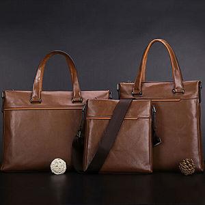 2017 New Style Shoulder Bags Genuine Leather Handbag Leather Men Bag New Designer Leather Brand Handbag Cases Men Bags M3145 pictures & photos