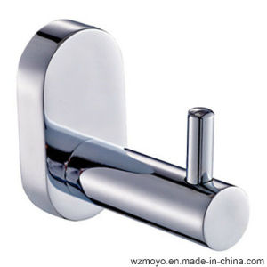 Single Robe Hook in Chrome Finish pictures & photos