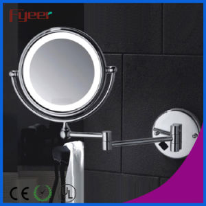 Fyeer Double Side Wall AC Power LED Makeup Mirror pictures & photos