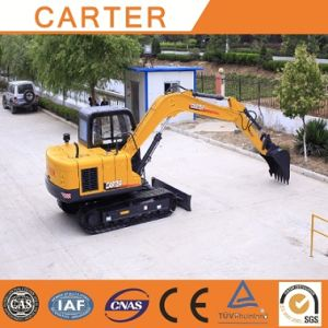 CT85-8A with Cummins Engine, Multifunctional Backhoe Mini Excavator pictures & photos