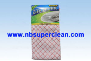 Supermarket Sell Kitchen Microfiber Cleaning Cloth (CN3633) pictures & photos