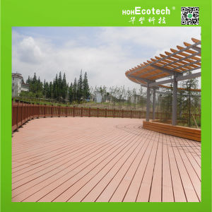 Durable Wood Plastic Composite Flooring WPC Decking pictures & photos