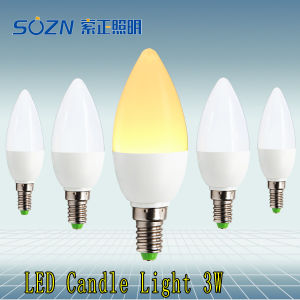 3we14 Candle LED Bulb with High Power LED