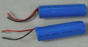 18650 4400mAh 14500 3.7V Li-ion Battery Pack Naccon pictures & photos