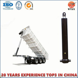 Front-End Installed Telescopic Hydraulic Jacks for Dump Truck pictures & photos