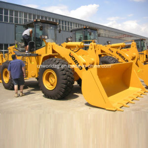 High Quality Construction Loader with Stone Bucket (W156) pictures & photos