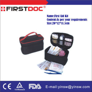 Black First Aid Bag, First Aid Kit pictures & photos