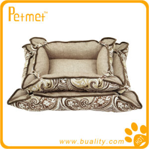 Convertible and Reversible Rectangle Pet Bed (PT38240)