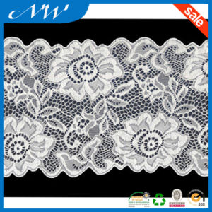 New Design Big Flower Lace Trims Jacquard Lace
