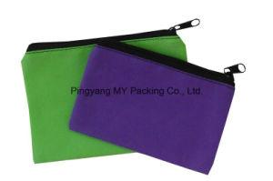 Custom Print Promotion Folding Non Woven Zipper Pencil Pouch Bag pictures & photos