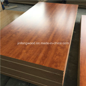18mm Wood Grain Color Melamine MDF Board pictures & photos