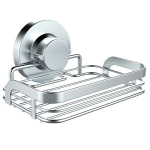 18/8 Stainless Steel Suction Soap Basket