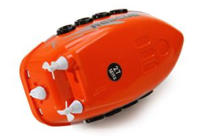 12111c-Mini 49MHz Remote Control Racing Boat Dual Propellers Bathtub Water Playing Toy pictures & photos