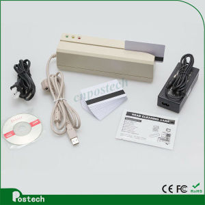 Free Software Magnetic Stripe Card Reader Writer Msr609 pictures & photos